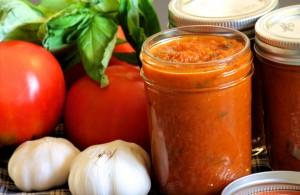 full of veg tomato sauce