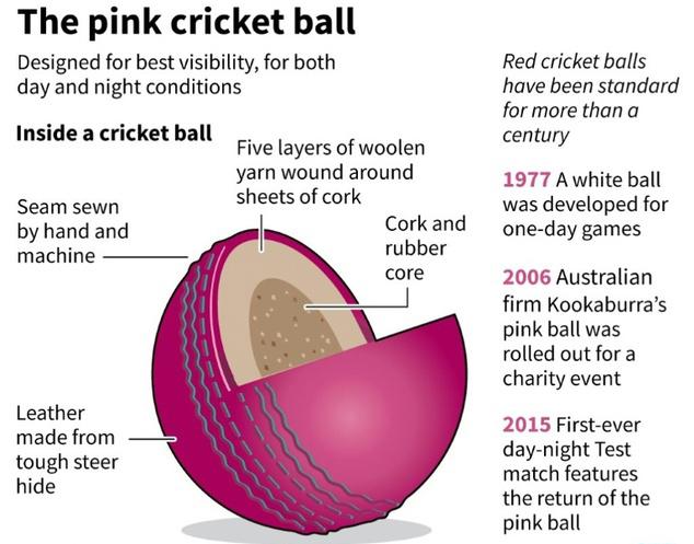 Kookaburra Day Night Test Cricket Ball